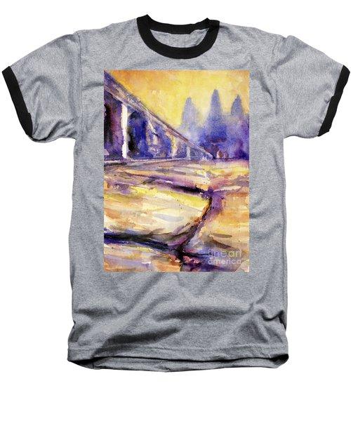 Angkor Wat Sunrise 3 Baseball T-Shirt