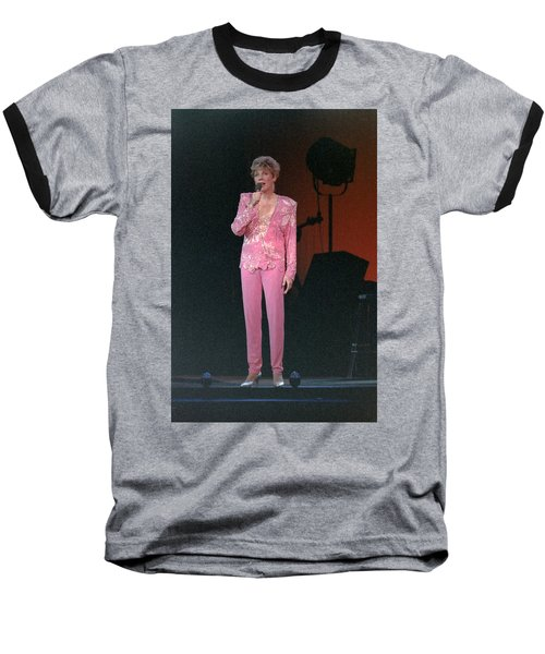 Baseball T-Shirt featuring the photograph Anne Murray by Mike Martin