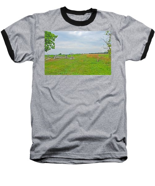 Baseball T-Shirt featuring the photograph Antietam Battle Of The Cornfield by Cindy Manero