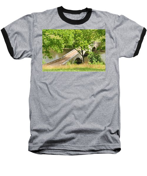 Baseball T-Shirt featuring the photograph Antietam's Burnside Bridge by Cindy Manero