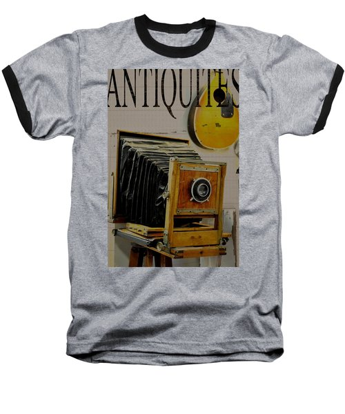 Antiquites Baseball T-Shirt by Jan Amiss Photography