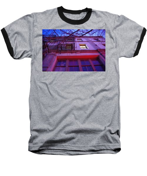 Baseball T-Shirt featuring the photograph Apartment Building by Marilyn Wilson