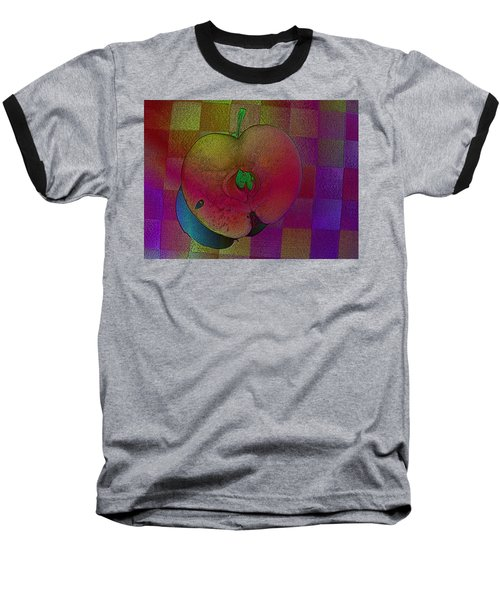 Baseball T-Shirt featuring the photograph Apple Of My Eye by David Pantuso