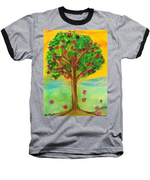 Apple Tree Baseball T-Shirt