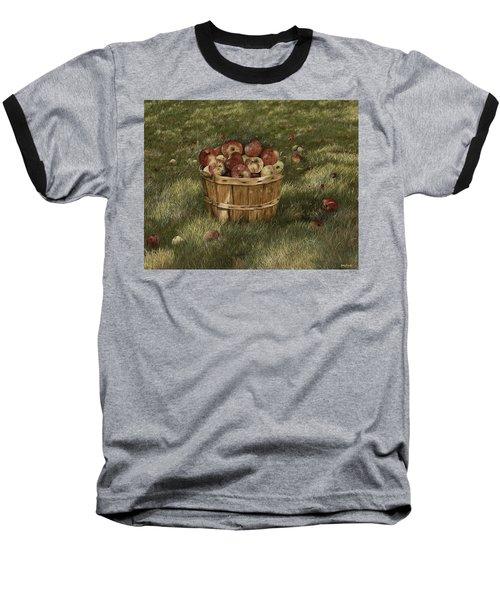 Apples In Basket Baseball T-Shirt