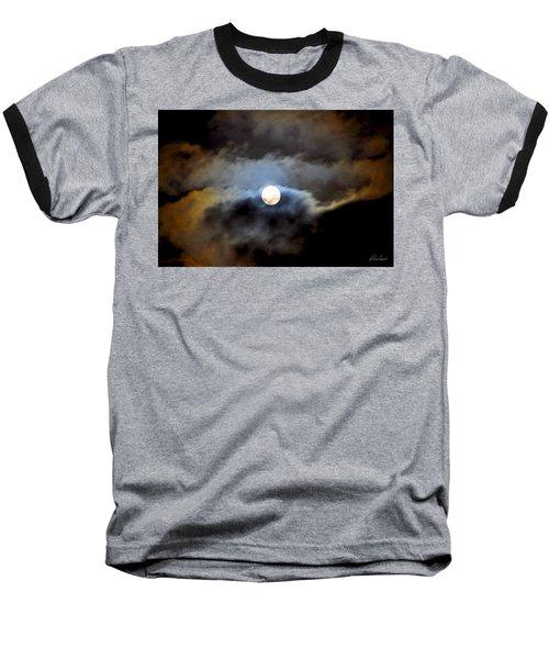Aquarius Full Moon Baseball T-Shirt