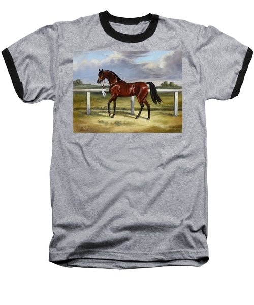 Arabian Horse Baseball T-Shirt