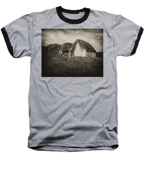 Baseball T-Shirt featuring the photograph Aran Island Home by Hugh Smith
