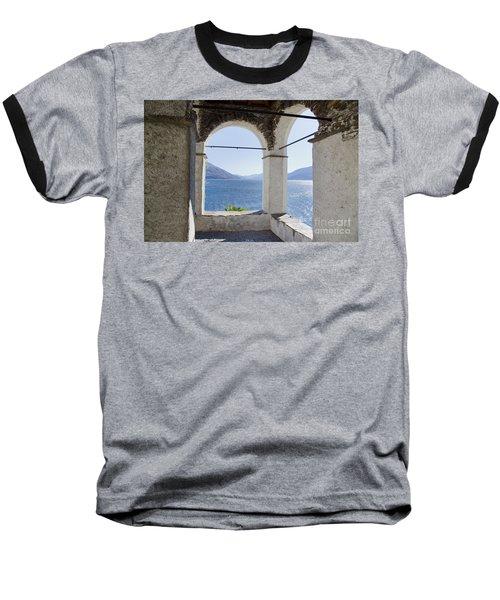 Arch And Lake Baseball T-Shirt