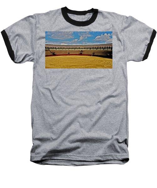 Arena De Toros - Sevilla Baseball T-Shirt