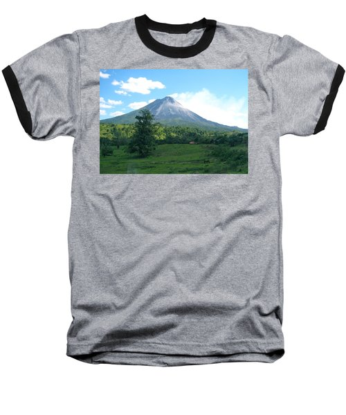 Baseball T-Shirt featuring the photograph Arenal by Eric Tressler