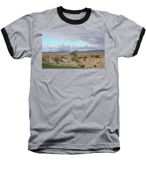 Arizona Desert View Baseball T-Shirt