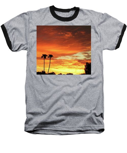 Arizona Sunrise 02 Baseball T-Shirt