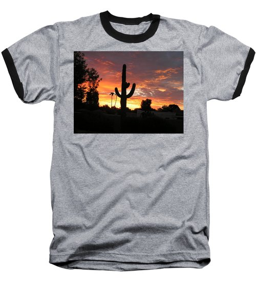 Arizona Sunrise 03 Baseball T-Shirt