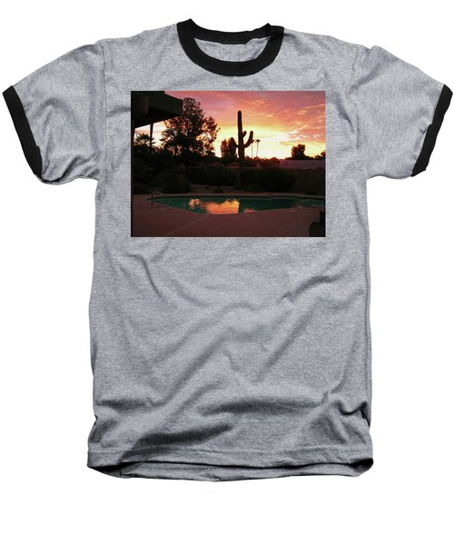 Arizona Sunrise 04 Baseball T-Shirt