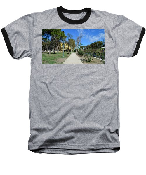Baseball T-Shirt featuring the photograph Arsenale by Barbara Walsh