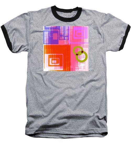 Baseball T-Shirt featuring the digital art Art Deco Style Digital Art by Susan Leggett