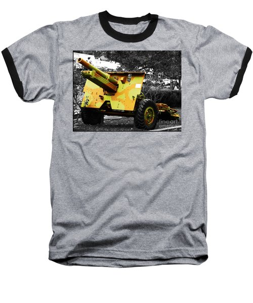 Baseball T-Shirt featuring the photograph Artillery Piece by Blair Stuart