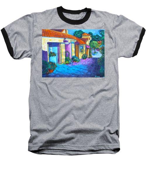 Artist Village Baseball T-Shirt by Diana Haronis