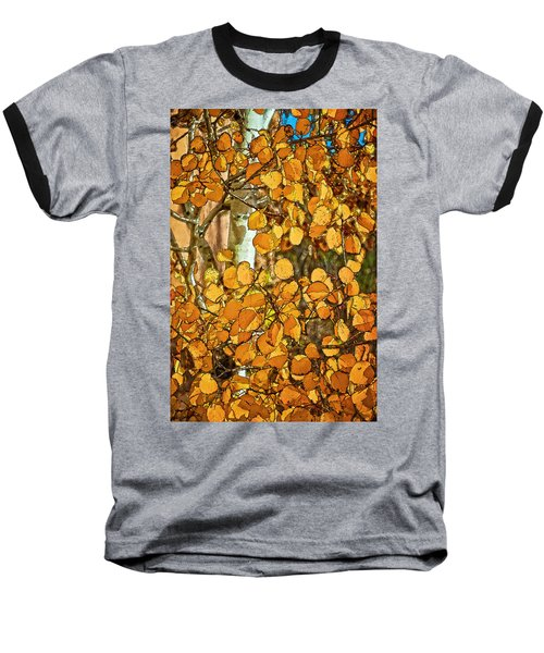 Aspens Gold Baseball T-Shirt