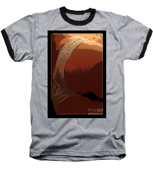 Baseball T-Shirt featuring the painting Assology 1 by Tbone Oliver