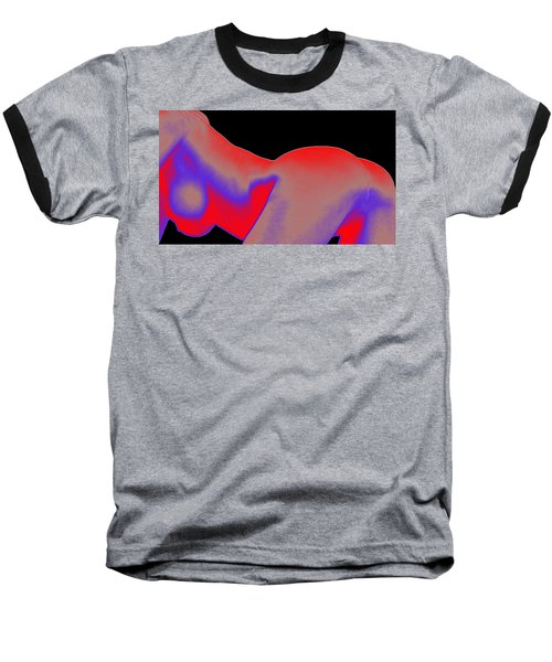 Baseball T-Shirt featuring the painting Assology 6 by Tbone Oliver