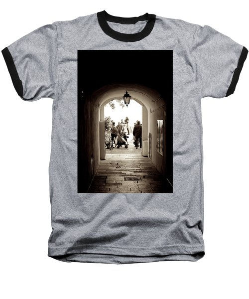 At The End Of The Tunnel Baseball T-Shirt