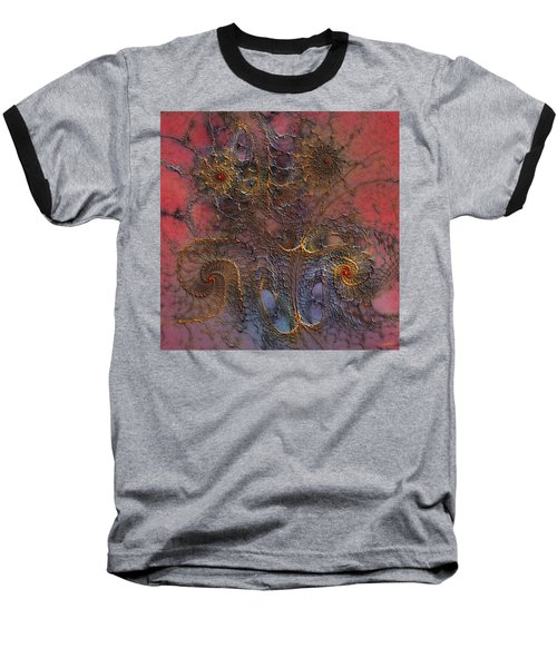 Baseball T-Shirt featuring the digital art At The Moment by Casey Kotas