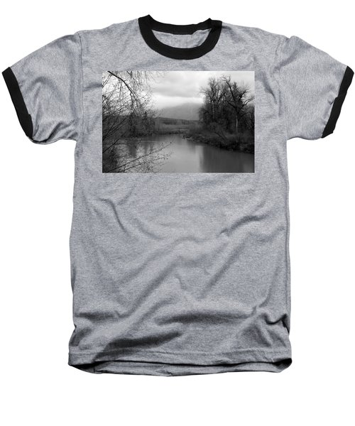 At The River Turn Bw Baseball T-Shirt