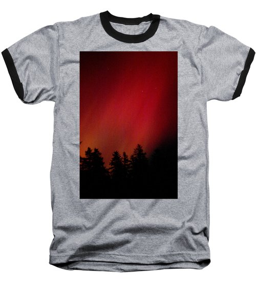 Aurora 01 Baseball T-Shirt by Brent L Ander