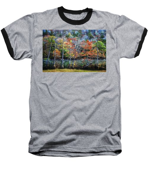Baseball T-Shirt featuring the photograph Autumn At Beaver's Bend by Tamyra Ayles