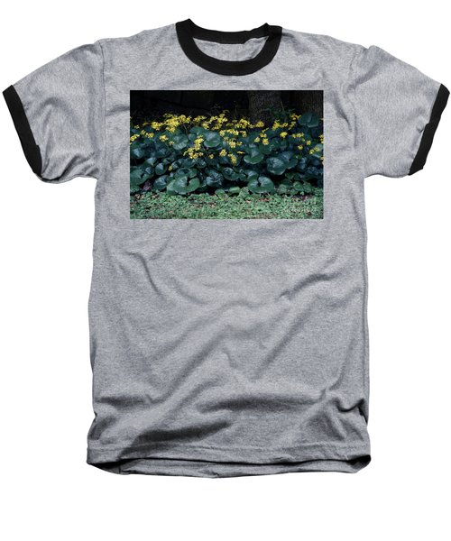 Autumn Flowers Baseball T-Shirt