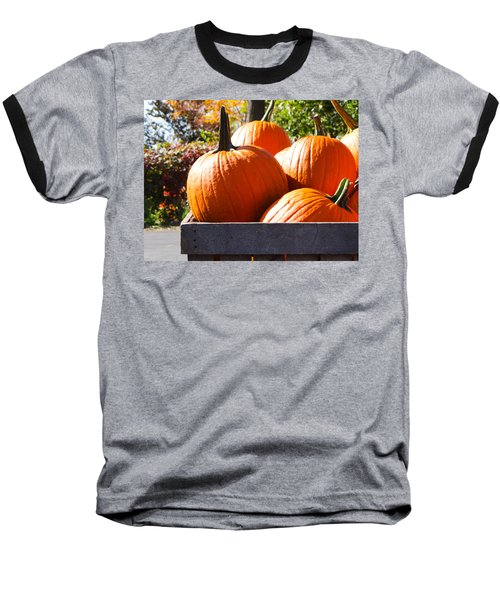 Baseball T-Shirt featuring the photograph Autumn Harvest by Julia Wilcox