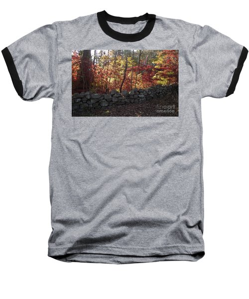 Autumn In New England Baseball T-Shirt