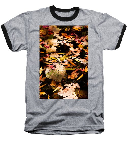 Autumn In Texas Baseball T-Shirt