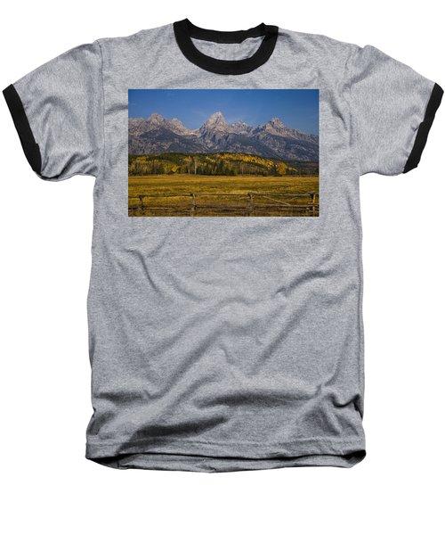Autumn In The Tetons Baseball T-Shirt