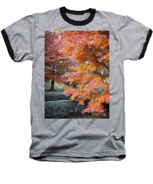 Autumn Momiji Baseball T-Shirt