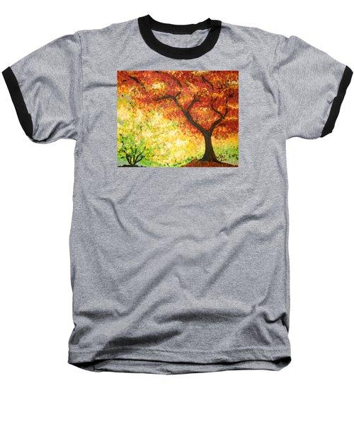 Autumn Rainbow Baseball T-Shirt