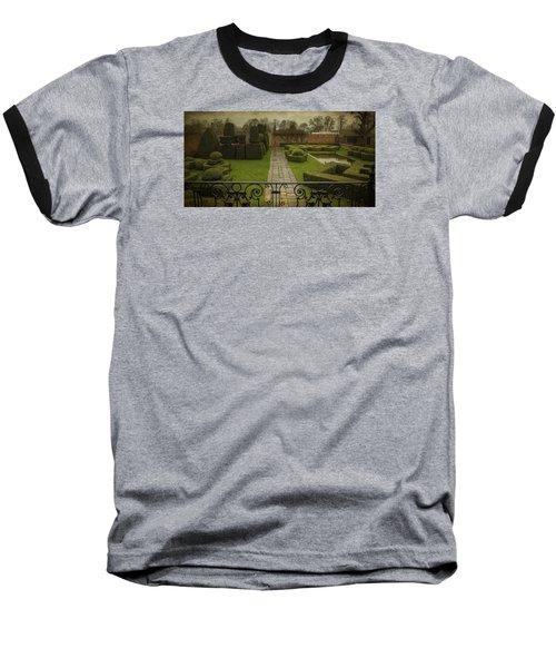 Avebury Manor Topiary Baseball T-Shirt