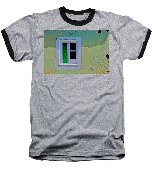 Azores Window Baseball T-Shirt