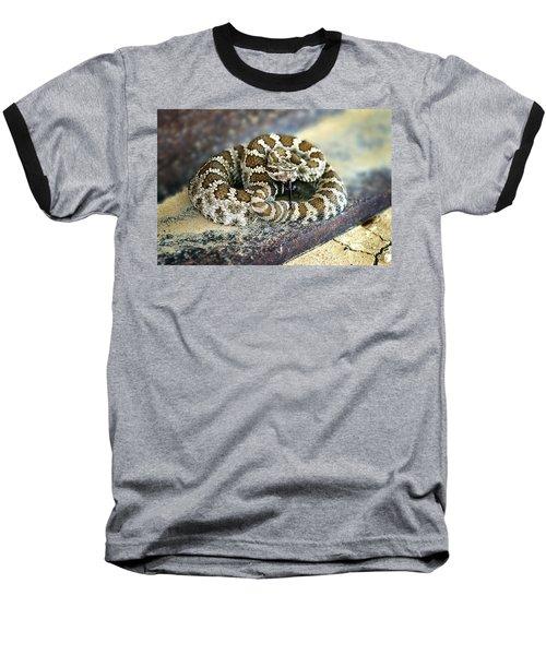 Baby Rattle Baseball T-Shirt by Anthony Jones