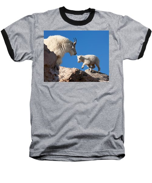 Baseball T-Shirt featuring the photograph Baby Steps by Jim Garrison