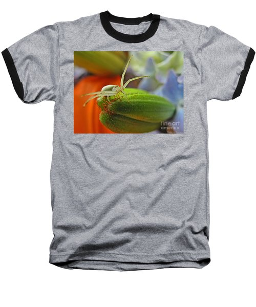 Baseball T-Shirt featuring the photograph Back Off by Debbie Portwood