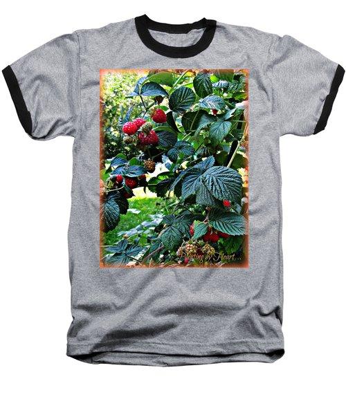 Backyard Berries Baseball T-Shirt