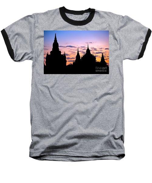Baseball T-Shirt featuring the photograph Bagan by Luciano Mortula