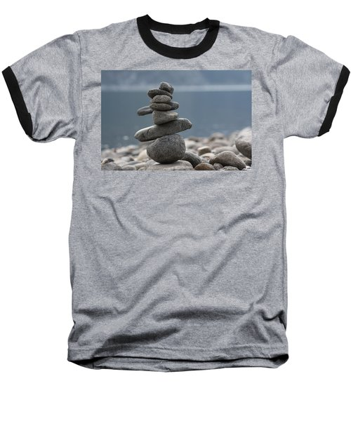 Balance Baseball T-Shirt by Cathie Douglas