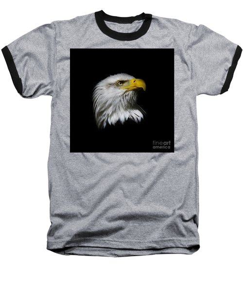 Baseball T-Shirt featuring the photograph Bald Eagle by Steve McKinzie