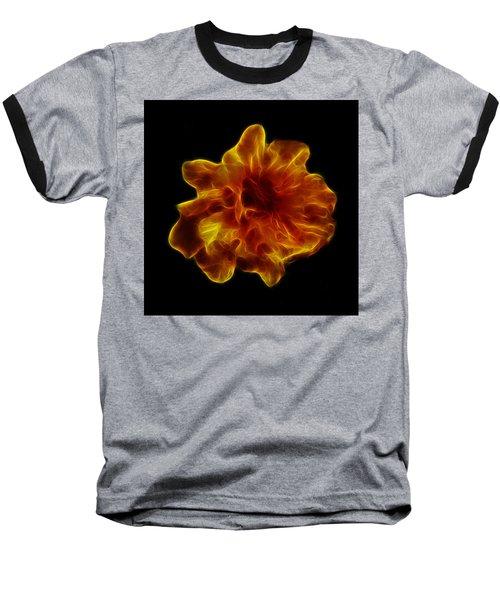 Baseball T-Shirt featuring the photograph Ball Of Fire by Lynn Bolt