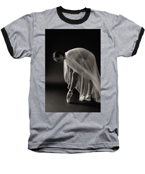 Ballerina Baseball T-Shirt by Hugh Smith