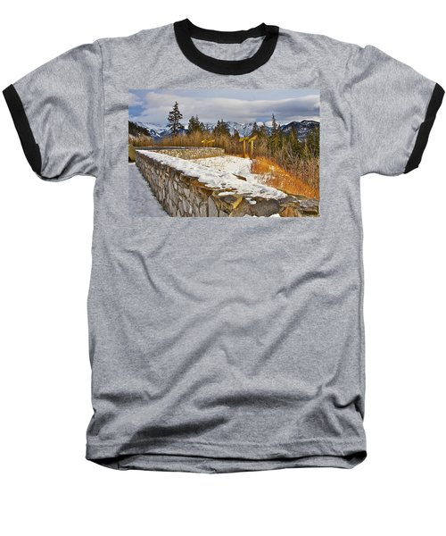 Baseball T-Shirt featuring the photograph Banff Scene by Johanna Bruwer